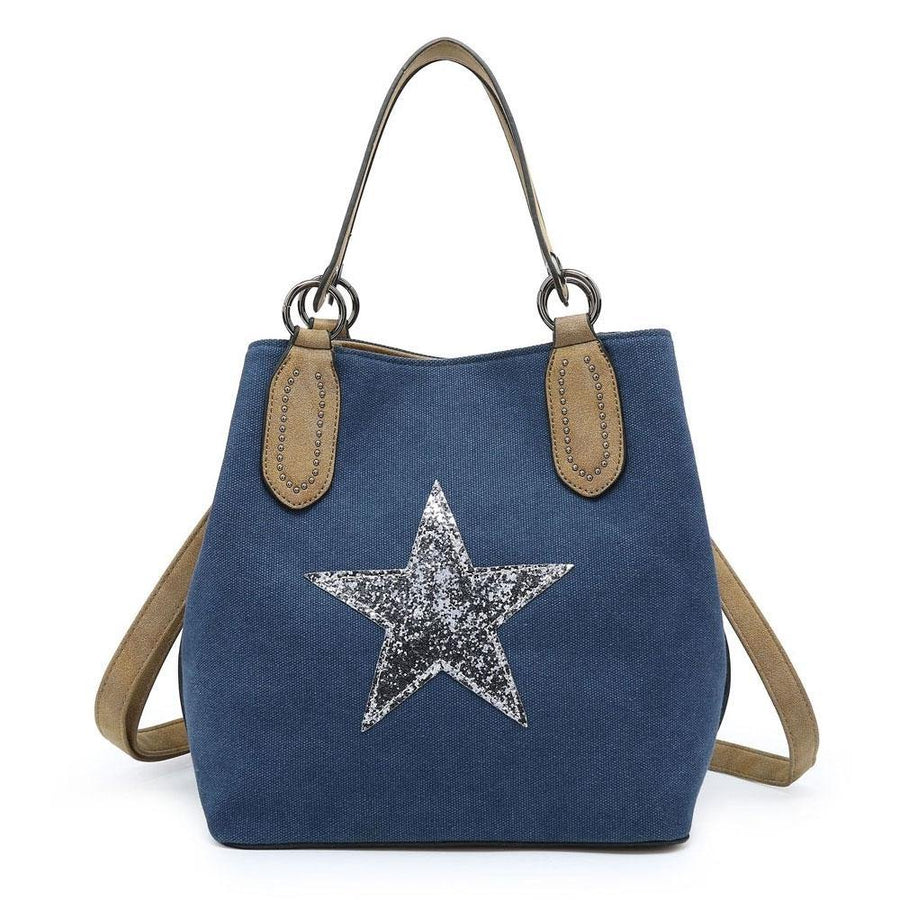 star bag with strap