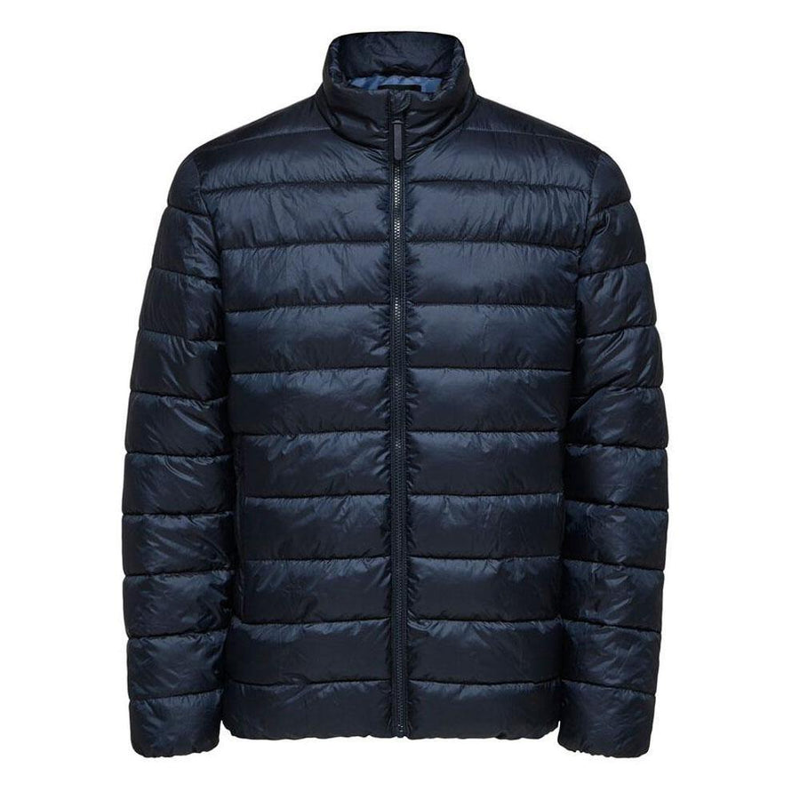 selected quilted plastic change jacket - JAVELIN