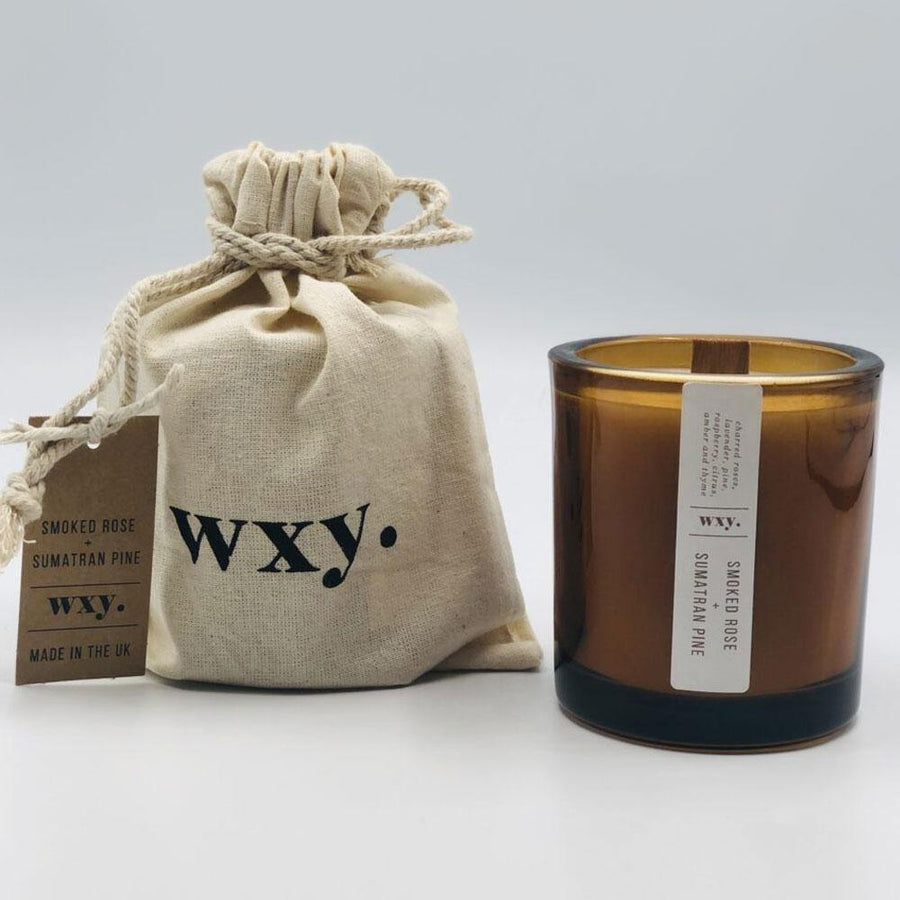 wxy mini amber. smoked  rose & sumatran pine - JAVELIN