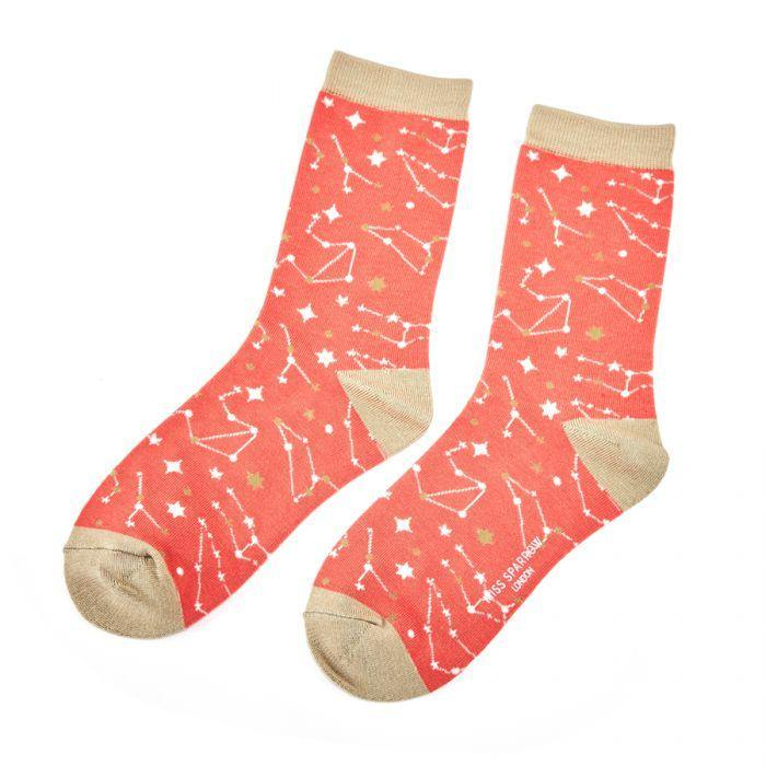 miss sparrow star sign socks