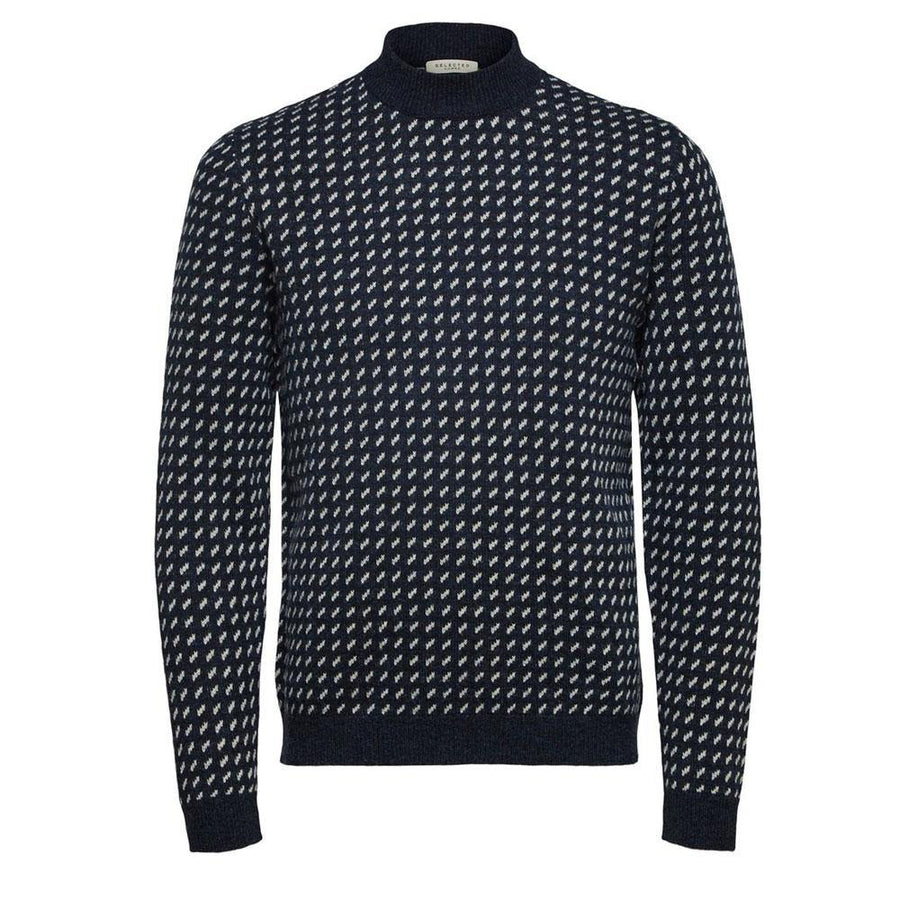 selected taylor pattern jumper
