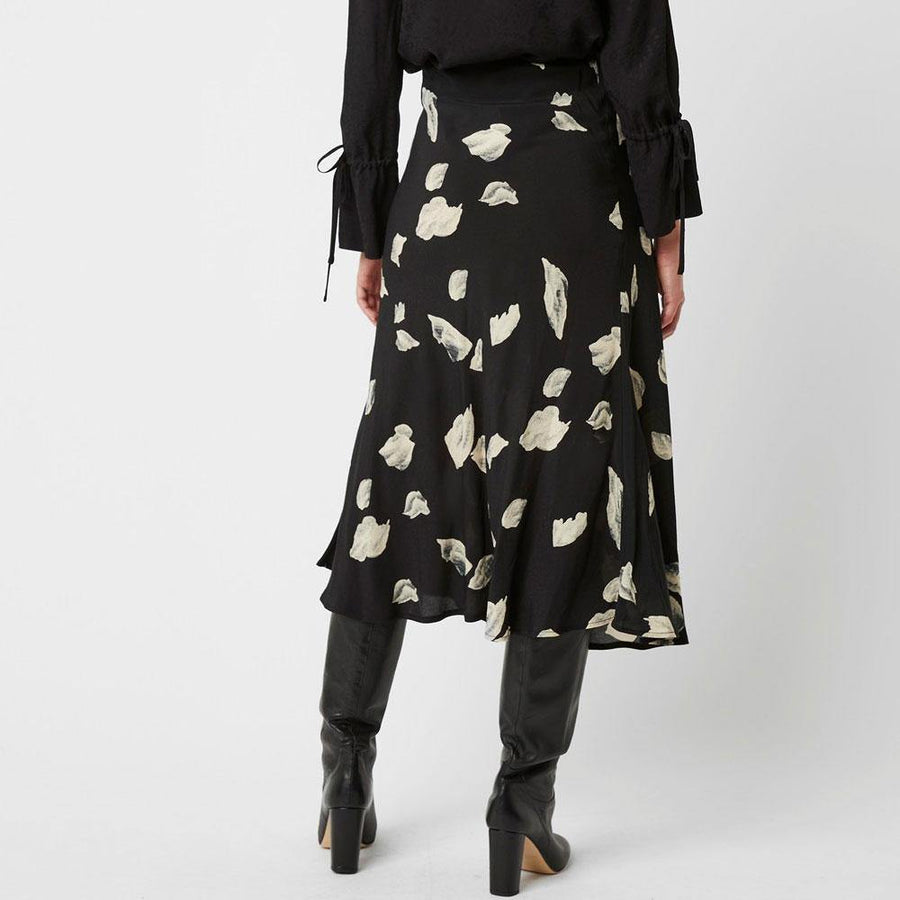 great plains winter umbra midi skirt