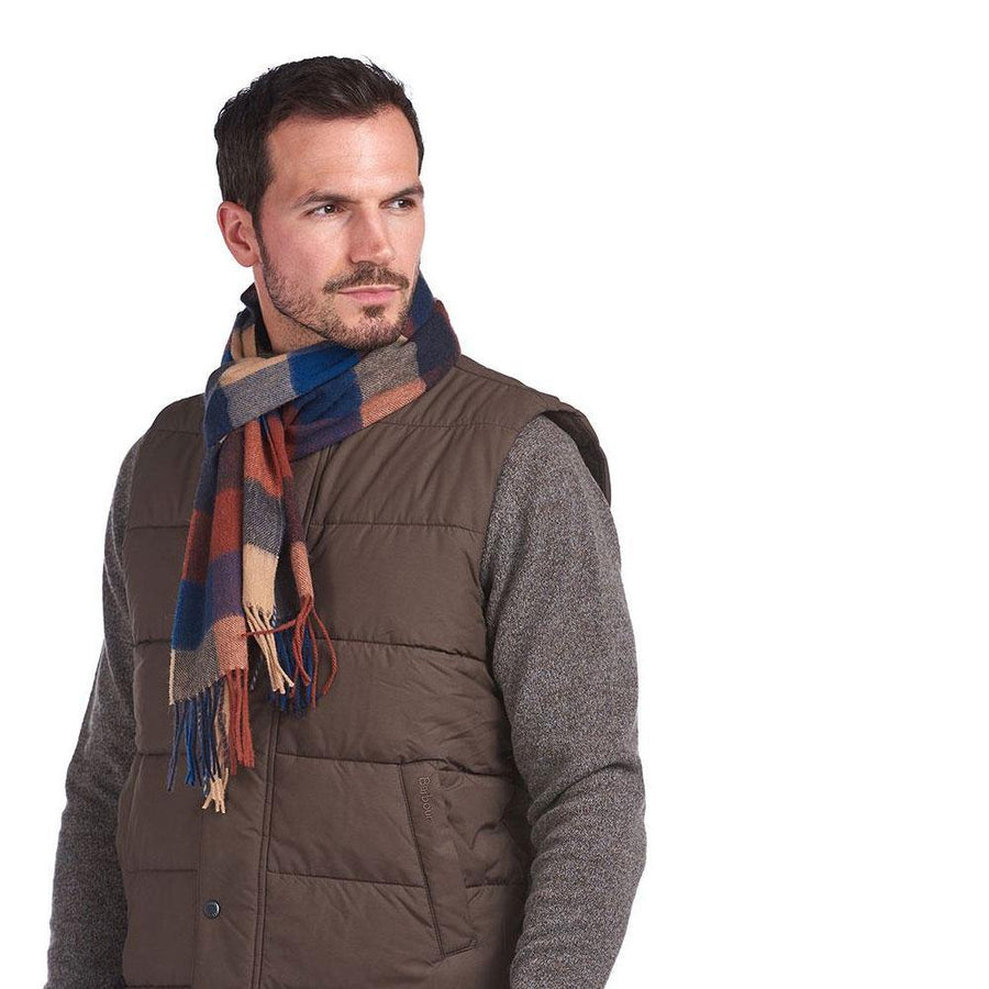 barbour large tattersall scarf