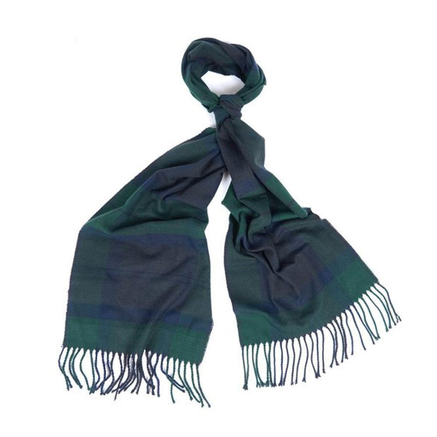 barbour galingale tartan scarf - JAVELIN