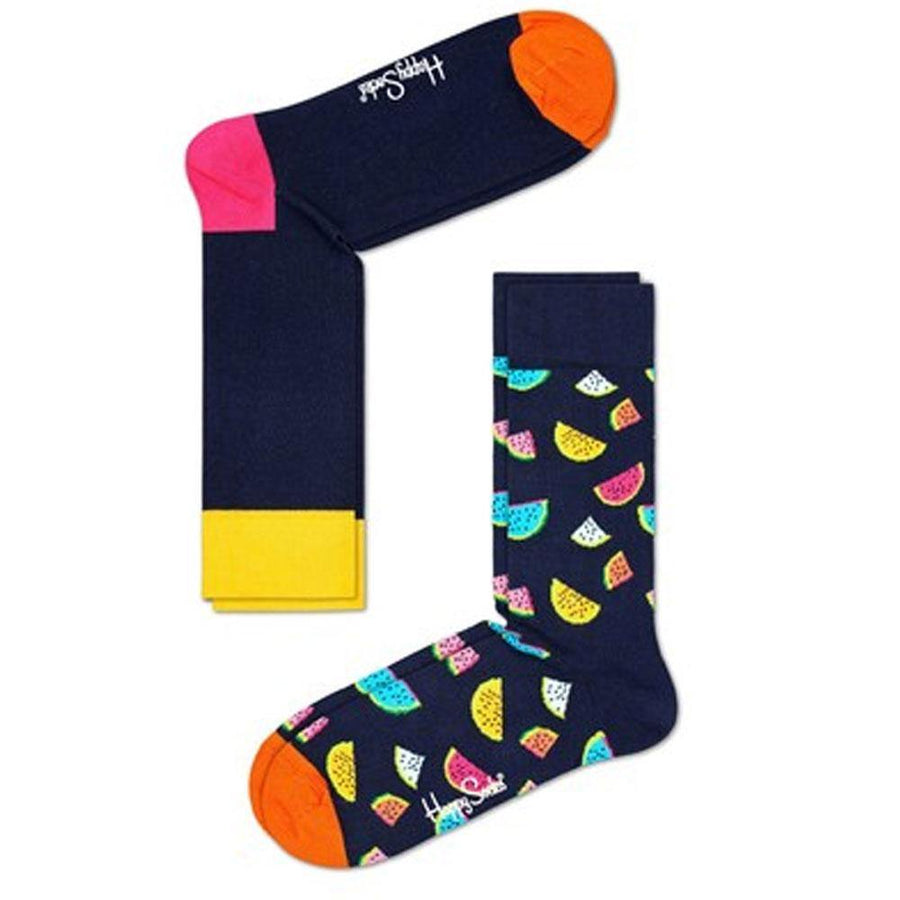 happy socks water melon 2 pack