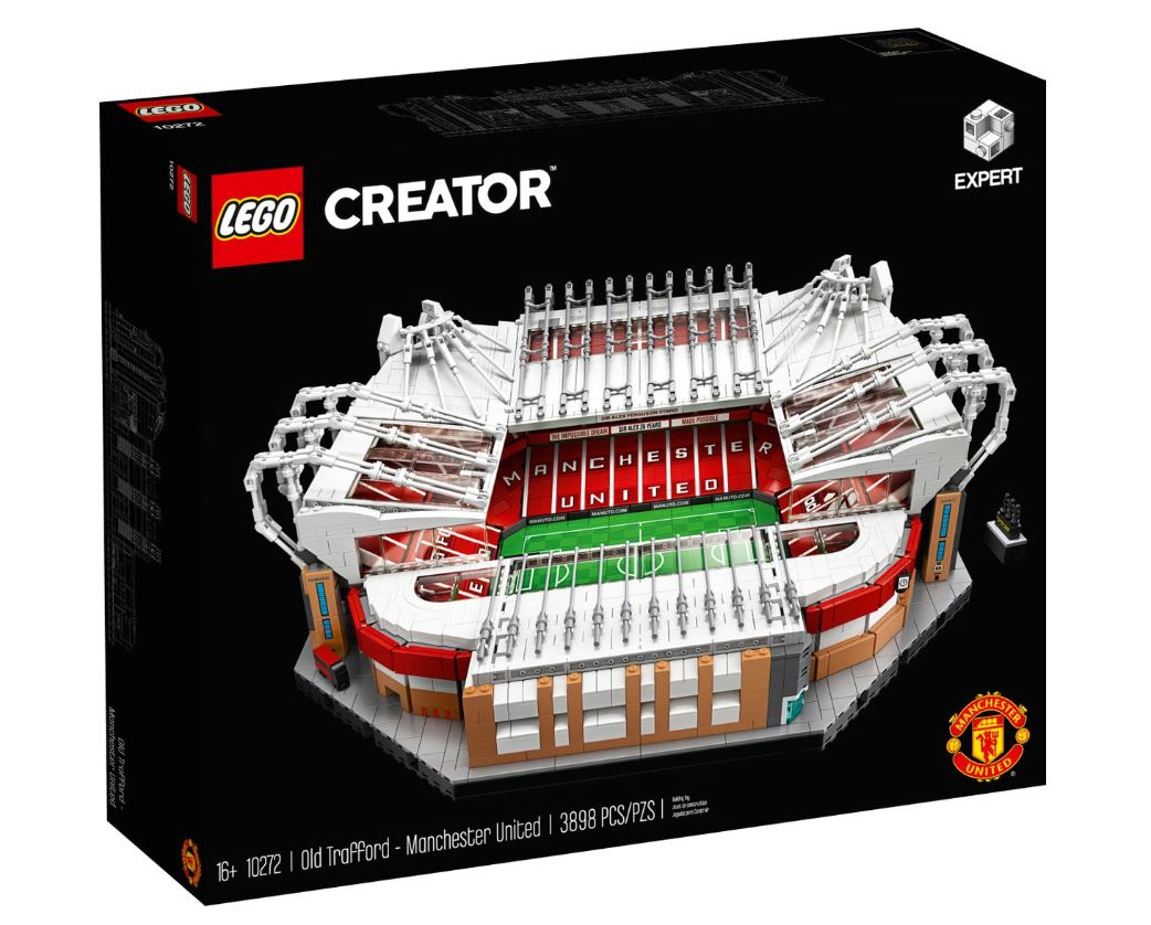 LEGO Creator Expert Old Trafford Manchester United 10272 Building Kit for Adults and Collector Toy 3,898 Pieces New 2020