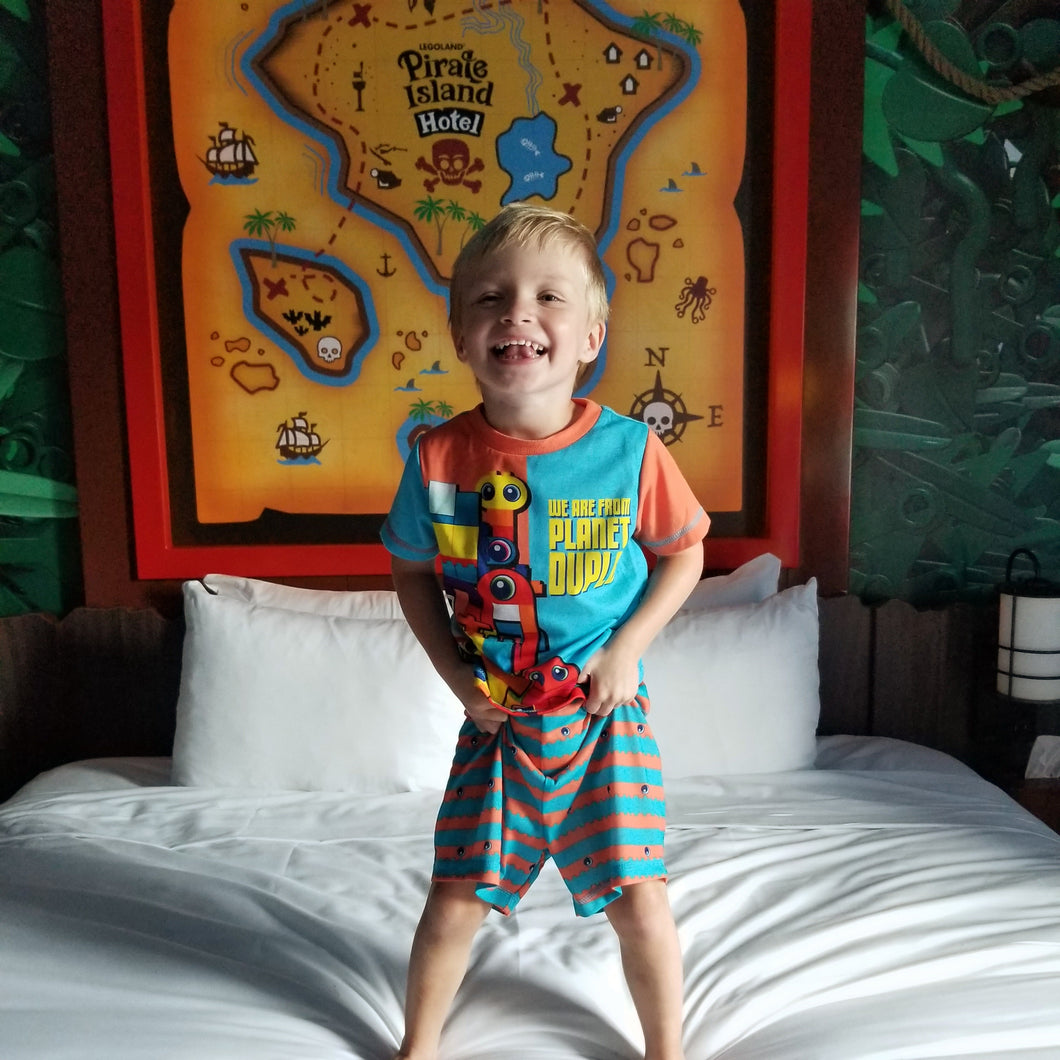 THE LEGO® MOVIE 2™ TODDLER PAJAMAS 2-PCS