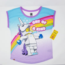 Load image into Gallery viewer, Exclusive LEGO® Unicorn Minifigure Pajamas 2-PCS