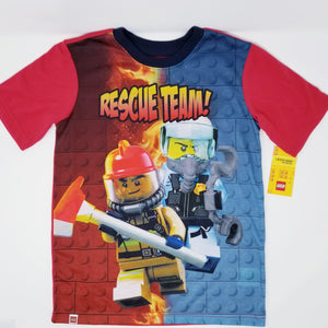 Exclusive LEGO® City Rescue Team Pajamas 2-PCS