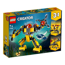 Load image into Gallery viewer, LEGO® CREATOR 3-in-1 Underwater Robot - 31090
