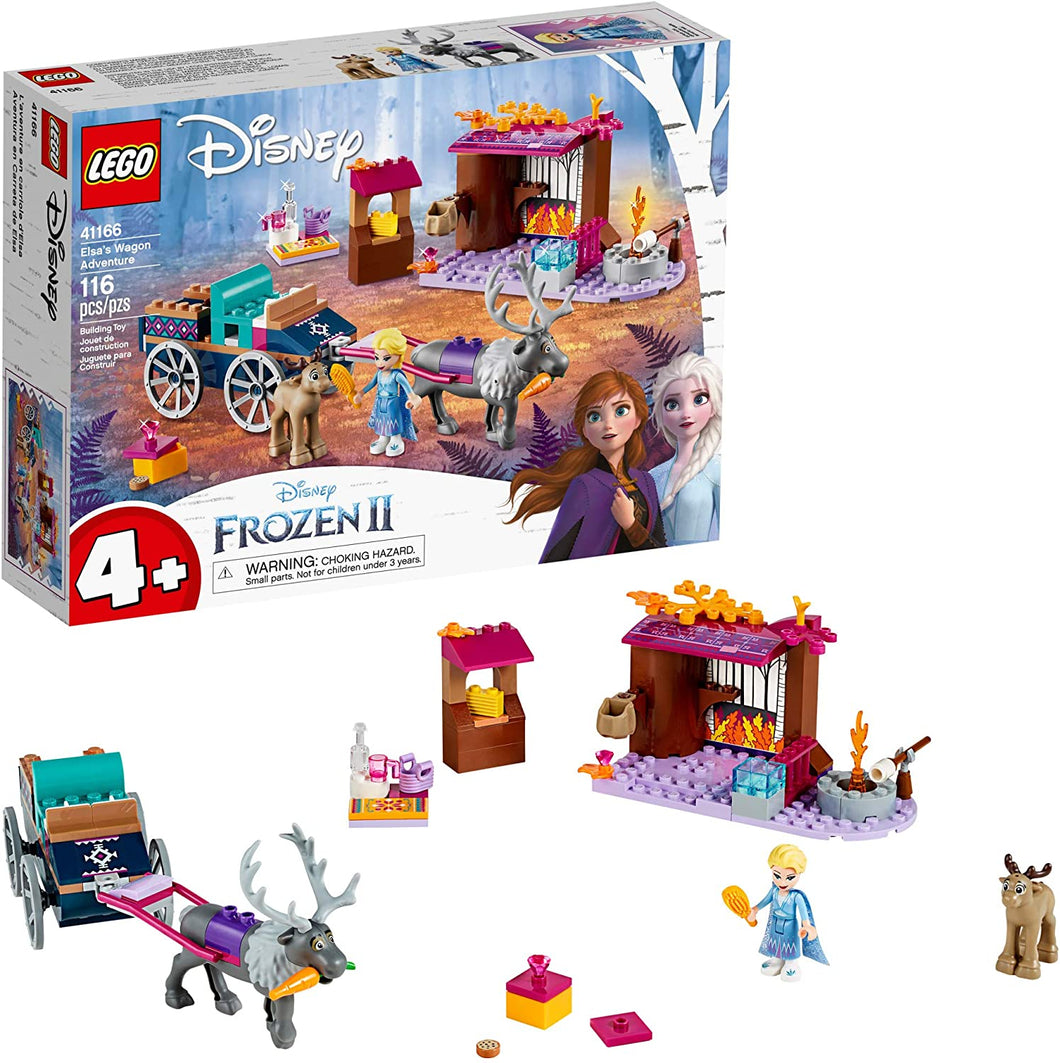 LEGO® Disney™ Elsa's Wagon Adventure- 41166