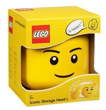 Load image into Gallery viewer, LEGO® Boy Storage Head – Large