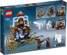 Load image into Gallery viewer, LEGO® HARRY POTTER™ Beauxbatons' Carriage: Arrival at Hogwarts - 75958