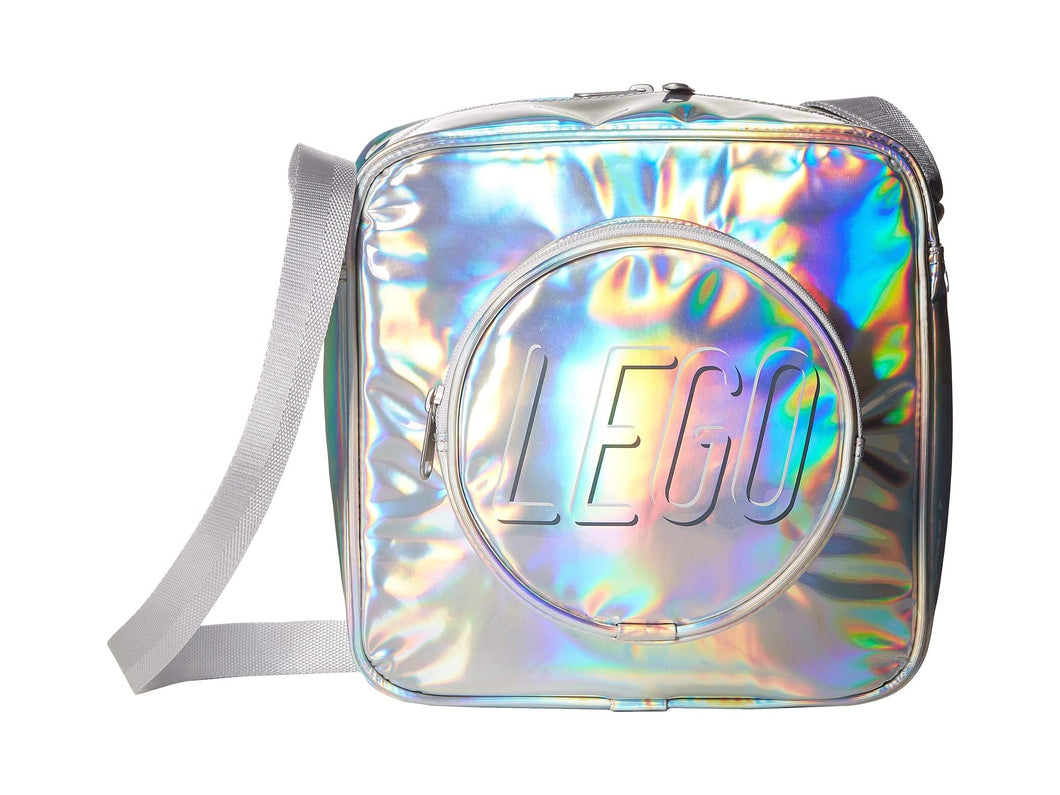 LEGO® ICONIC HOLOGRAPHIC BRICK CROSSBODY BAG