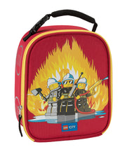Load image into Gallery viewer, LEGO® CITY FIRE TRIO LUNCH BAG