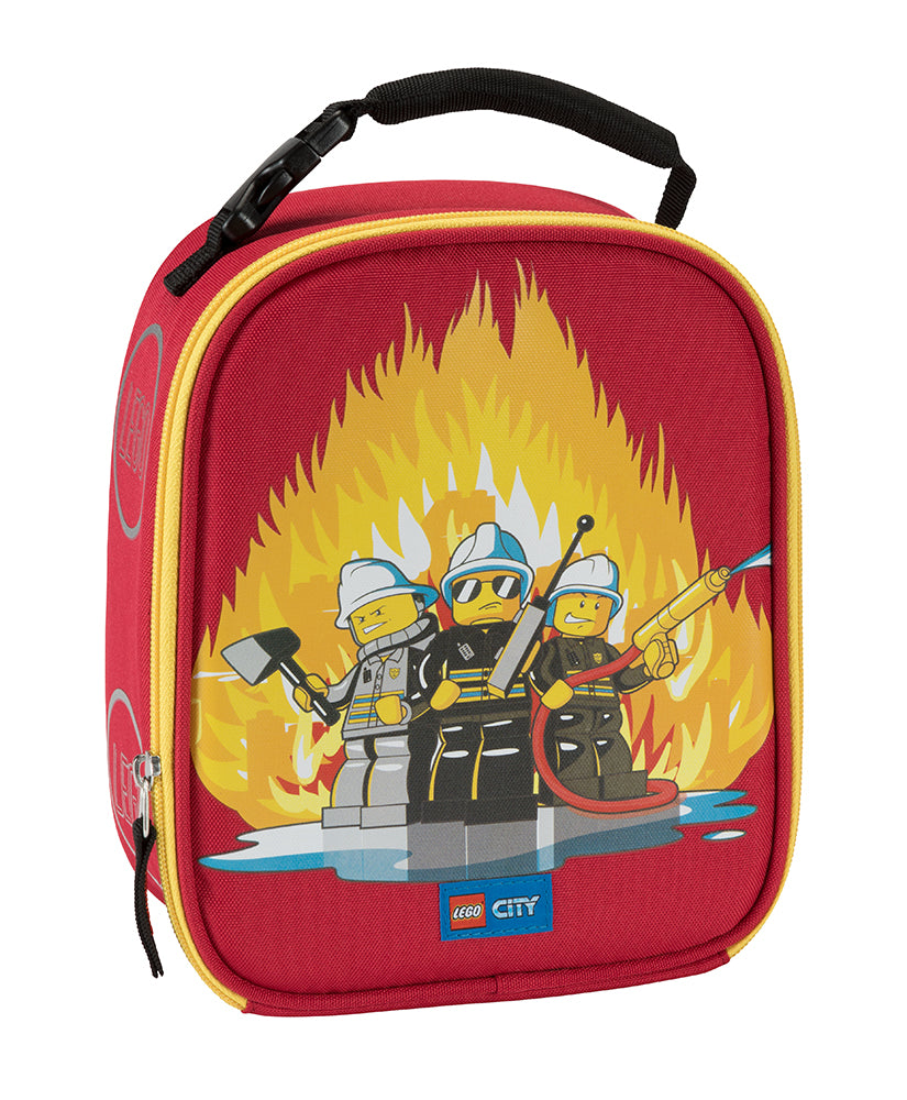 LEGO® CITY FIRE TRIO LUNCH BAG