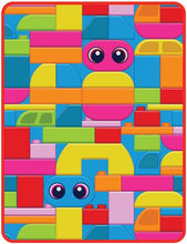 Load image into Gallery viewer, EXCLUSIVE! LEGO® MOVIE 2™ DUPLO LAND PLUSH THROW