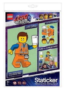 The LEGO® Movie 2™ Emmet Staticker