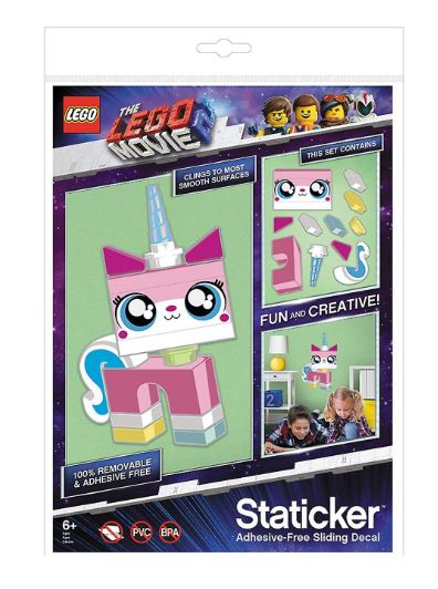 The LEGO® Movie 2™ Unikitty Staticker
