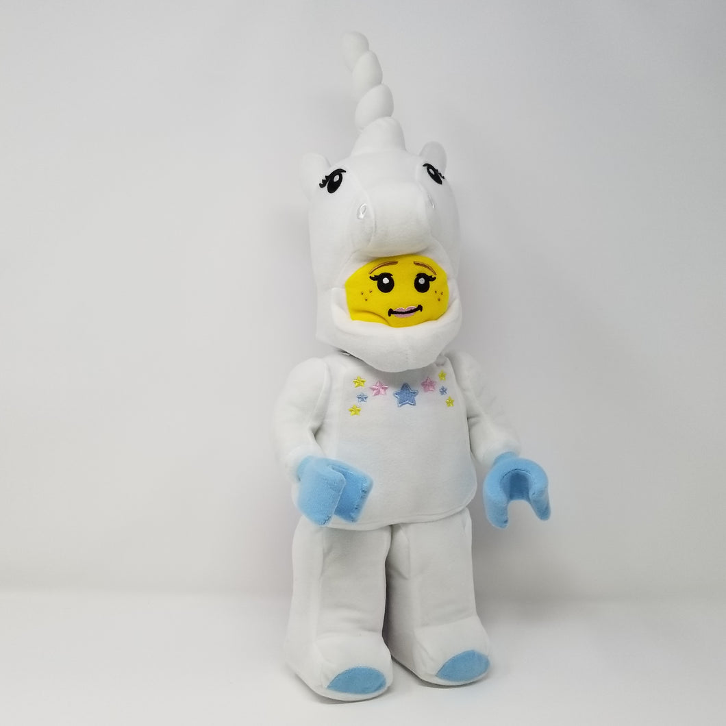 LEGO® UNICORN GIRL MINIFIGURE PLUSH