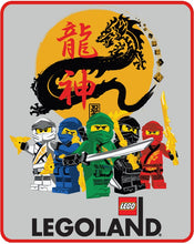Load image into Gallery viewer, LEGO® NINJAGO® YEAR OF THE DRAGON PLUSH THROW