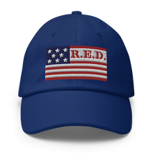 Load image into Gallery viewer, R.E.D. Baseball Hat