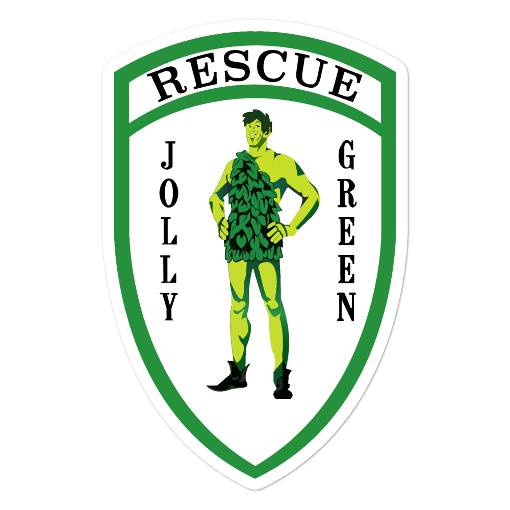 Jolly Green PJ Sticker
