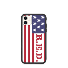 Load image into Gallery viewer, R.E.D. iPhone Case