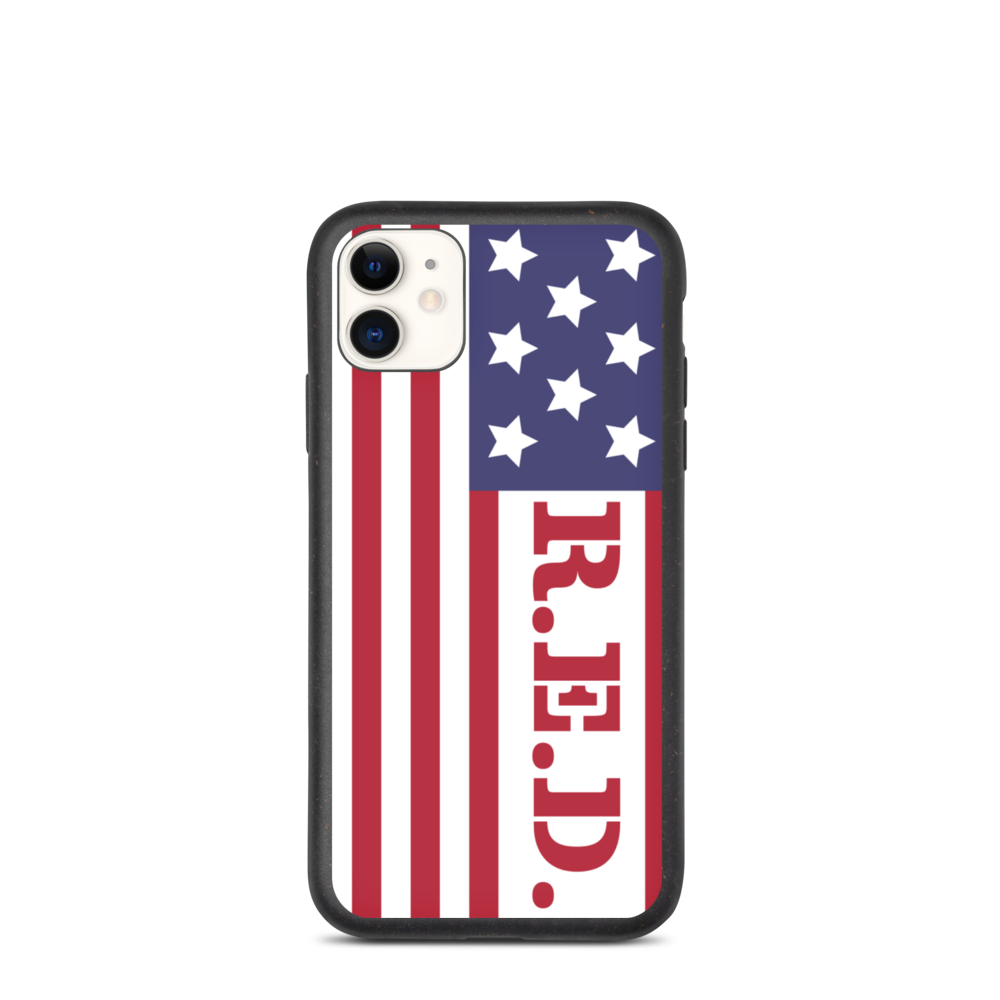 R.E.D. iPhone Case