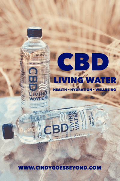 Cindy Goes Beyond – CBD Living Water