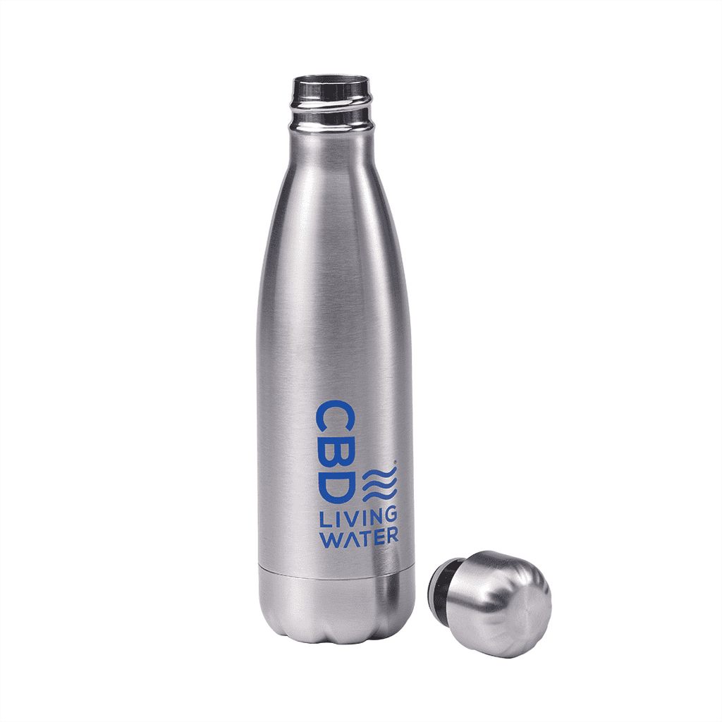 CBD Living Stainless Steel Bottle 16.9oz
