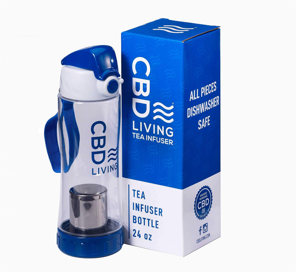 CBD Living Tea Infuser Bottle