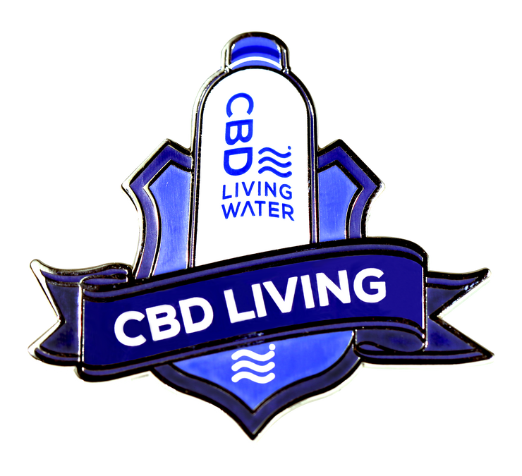 CBD Living Hat Pin