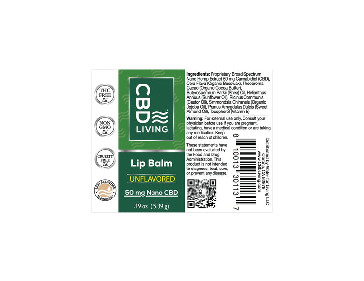 CBD Lip Balm 50 mg