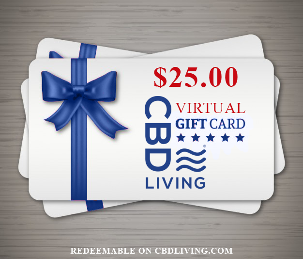 CBDLiving.com Virtual Gift Card