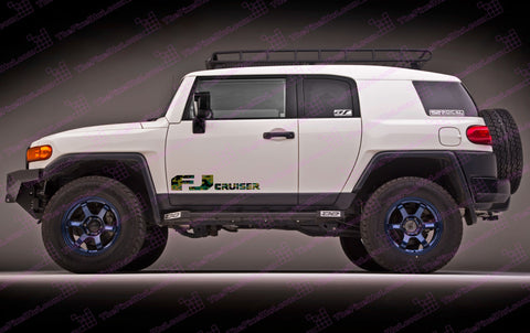 Toyota FJ Cruiser Decals
