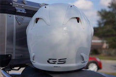 "Reflective Safety Decal Kit ""GS"" Logo for Arai XD4 Motorcycle Helmet"