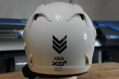 "Reflective Safety Decal Kit ""Chevron"" for Arai XD4 Motorcycle Helmet"