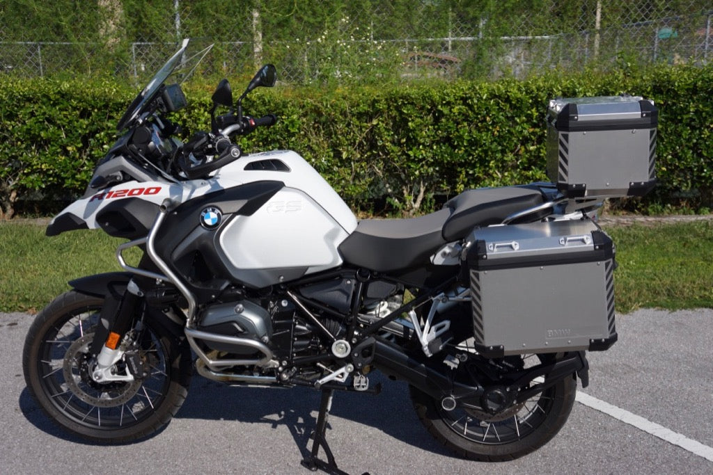 Bmw Gs Motorcycle Reflective Chevrons Touratech Panniers