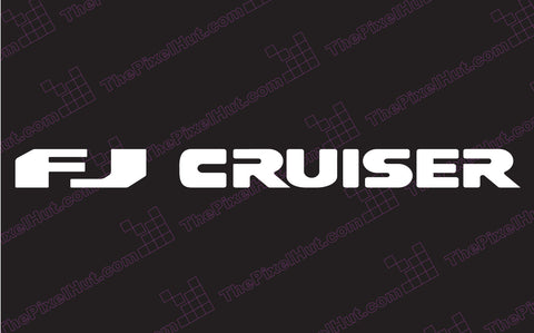 Toyota FJ Cruiser Windshied Decal