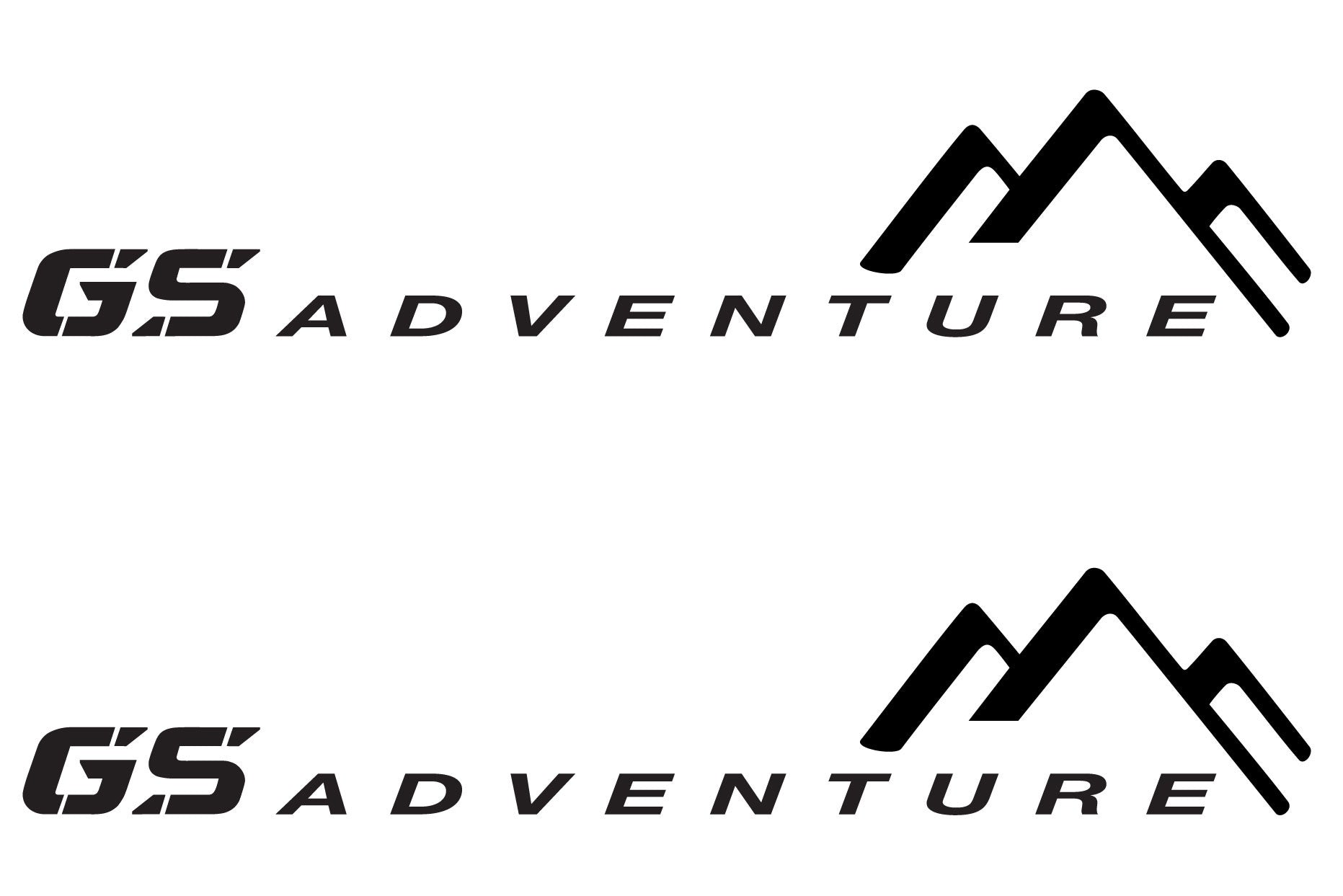 Bmw Motorcycle Reflective Decal Kit Gs Adventure For