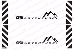 BMW GS Motorcycle Reflective Decal Kit GS Adventure Chevron for Touratech Panniers