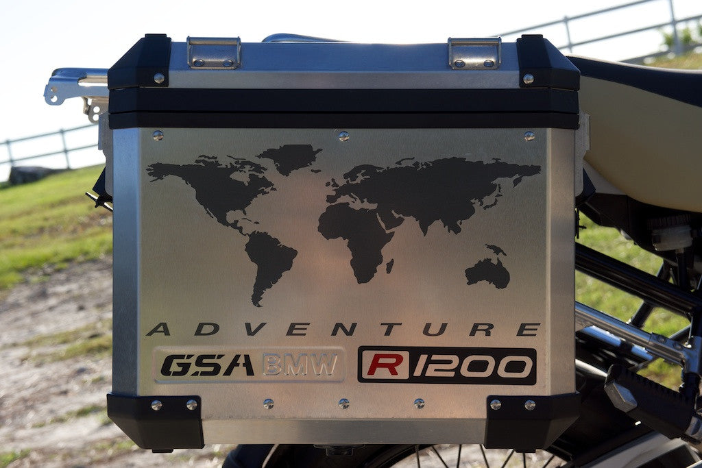 Bmw Motorcycle Decal Kit R1200 World Adventure For