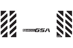 BMW GSA Adventure Motorcycle Reflective Chevron Decal Kit R1200 GSA for Touratech Top Case