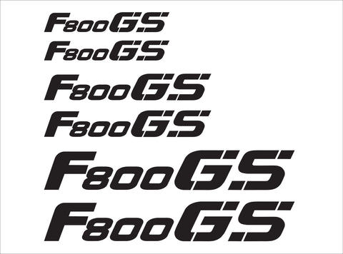 BMW GS Motorcycle Reflective Decals F800 GS