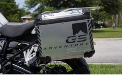 "BMW GSA Adventure Motorcycle Reflective Decal Kit ""GS Mountain Big Adventure"" for Touratech Panniers"