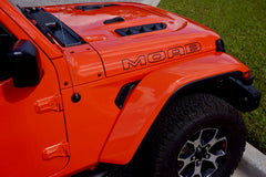 MOAB Border Style Hood Decals for your Jeep Wrangler JL JLU and Gladiator JT
