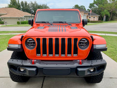 USA Flag Center Hood Decal for Jeep Wrangler JL and Gladiator JT