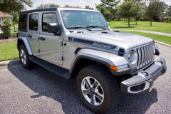 Jeep Wrangler Retro Hood Decals for Wrangler JL