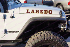 Jeep Wrangler LAREDO Western Style Full Color Hood Decals